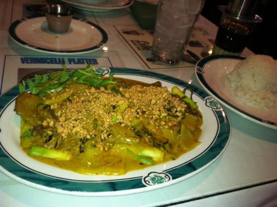 Lido Restaurant: beef curry