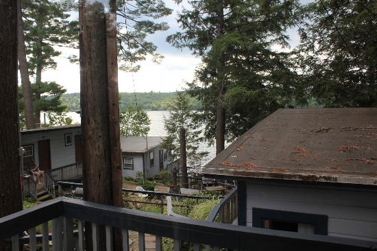 Lazy E Motor Inn: View from deck