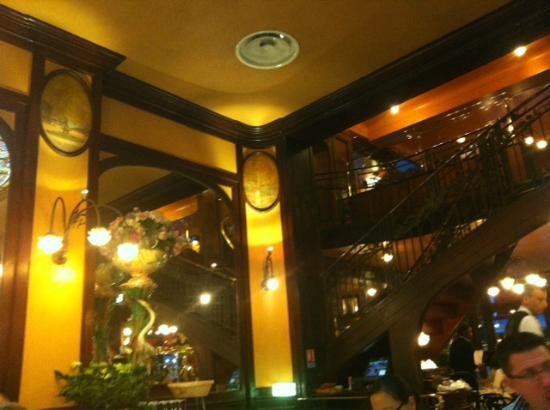 Brasserie Bofinger : Erdgeschoss des Restaurants