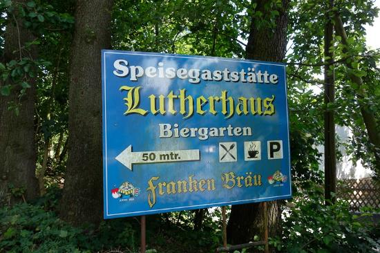 ‪‪Lutherhaus‬: Lutherhaus sign‬