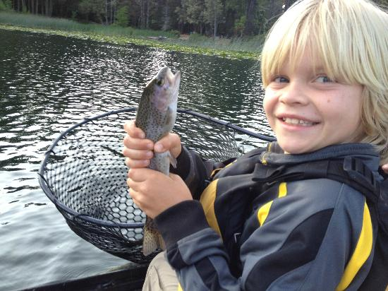 Marble Mountain Ranch - Family Guest Ranch: First Fish EVER!
