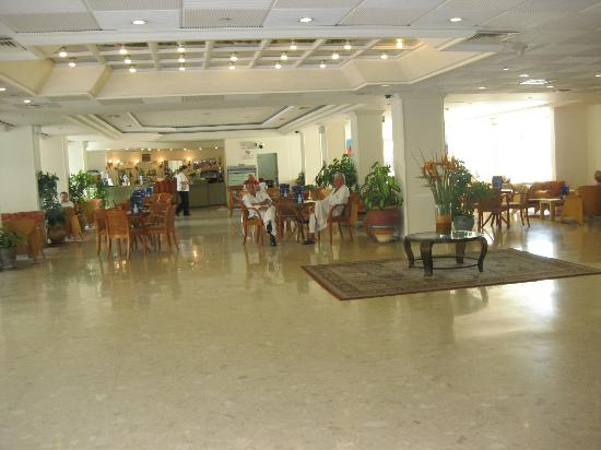 Lobby, Lot Spa Hotel on the Dead Sea, Ein Bokek, Israel