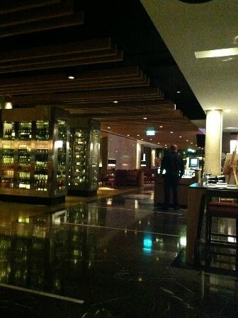 QT Canberra: Hotel restaurant - Italian