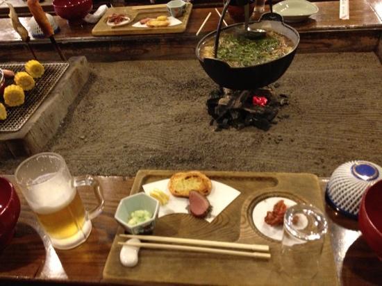 Tazawa Plateau Hotel: 一日目夕食