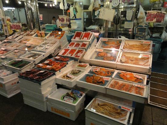 Kanazawa, Japón: カニのセット