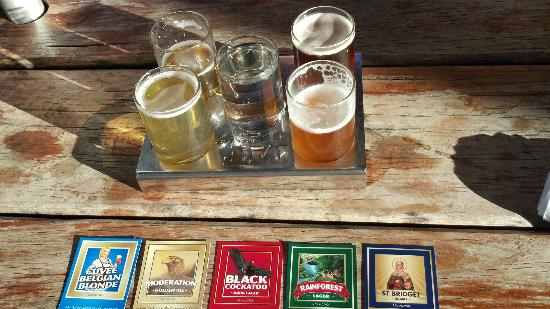 Mount Tamborine Wine Tasting Tours: MT Brewery