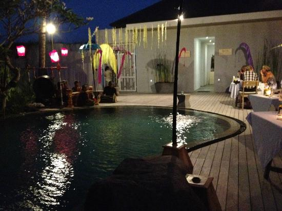 Maca Villas & Spa : Dance night and BBQ