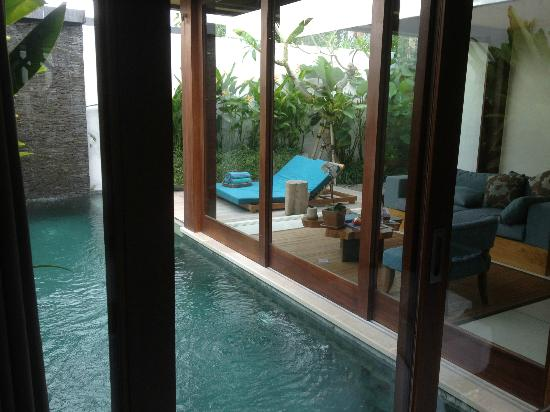 Maca Villas & Spa : dive straight into the pool from your room lol