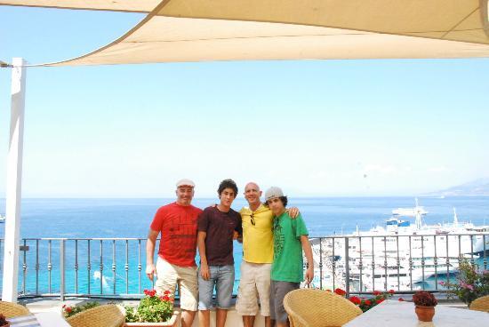 Hotel Relais Maresca: Terraza restaurante