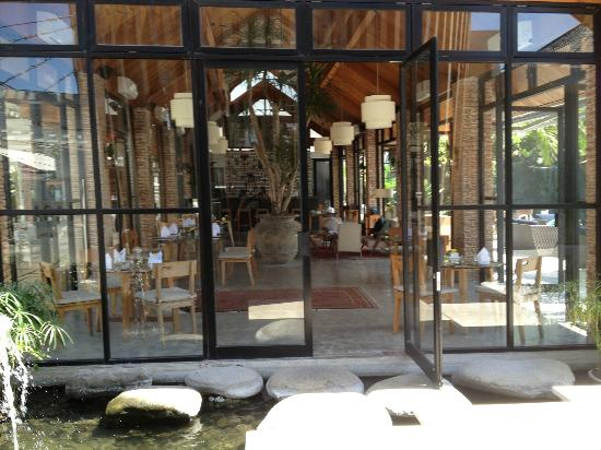Maca Villas & Spa : Mase Restaurant