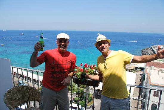 Hotel Relais Maresca: Festejo en la llegada a Relais Maresca