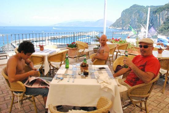 Hotel Relais Maresca: Almuerzo en hotel