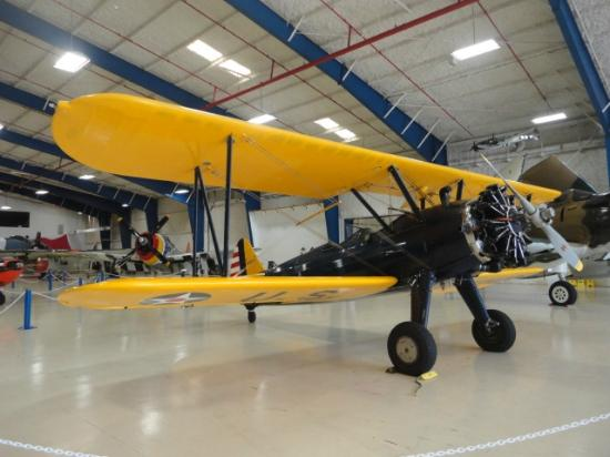 Lone Star Flight Museum: Bi-plane