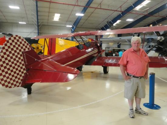 "Lone Star Flight Museum: This plane was used in the movie ""Secondhand Lions"""