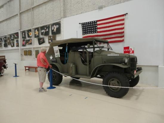 Lone Star Flight Museum: Army jeep