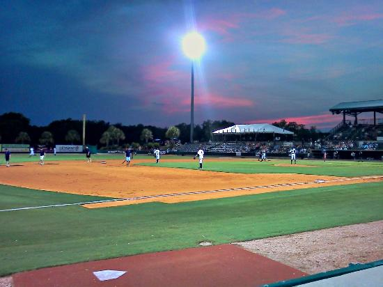 "Joseph P. Riley, Jr. Park : Sunset at ""The Joe"""
