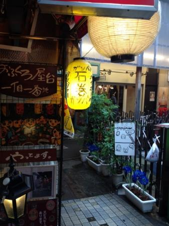 Kichijoji: Hamonico is the area directly outside the north entrance of the station. Full of groovy bars and