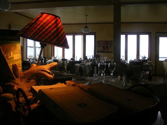 Auberge du Grand Fleuve: La salle à manger