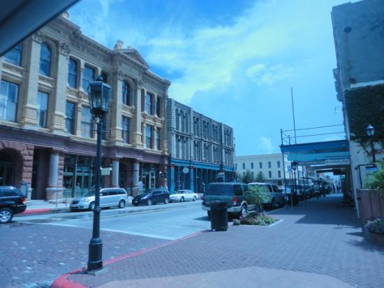 Galveston Historic Tour: The Strand
