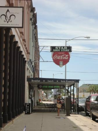 Galveston Historic Tour: The oldest CocaCola sign in the state of Texas