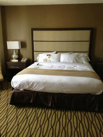 DoubleTree Suites by Hilton - Austin: Comfy king size bed