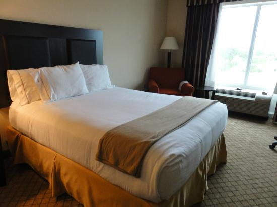 Holiday Inn Express Hotel & Suites Newberry: Comfy Bed