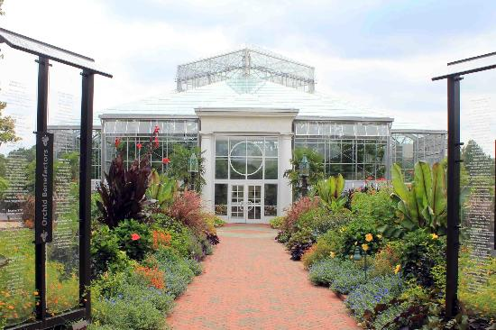 Orchid Conservatory Picture Of Daniel Stowe Botanical Garden Belmont Tripadvisor