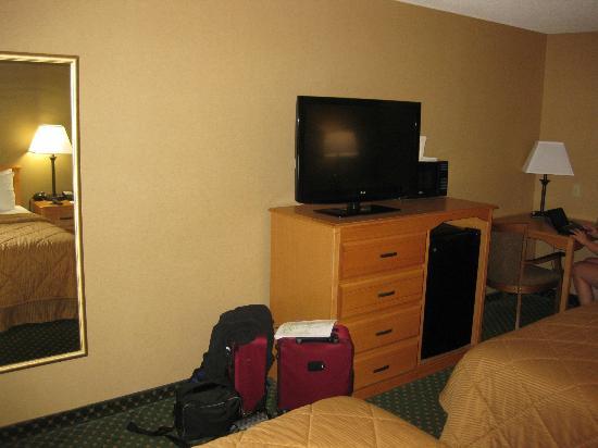 Comfort Inn Green River: tv