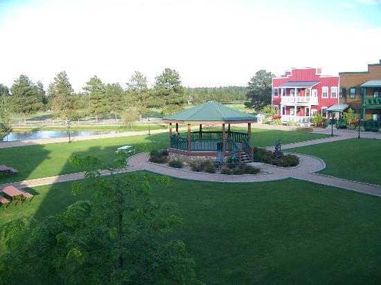 WorldMark Bison Ranch: from balcony