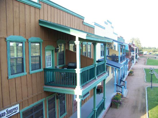 WorldMark Bison Ranch: rear balcony view