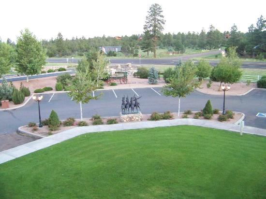 WorldMark Bison Ranch: from front door