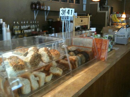 Sun Shoppe & Cafe: counter area