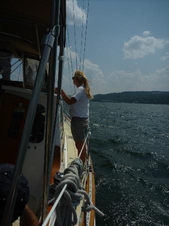 Seneca Sailing Adventures : Beautiful Seneca Lake