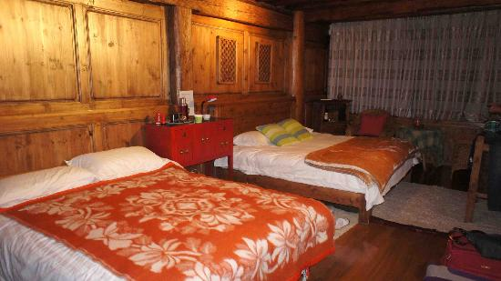 The Home Tibetan Home: Ground floor bedroom