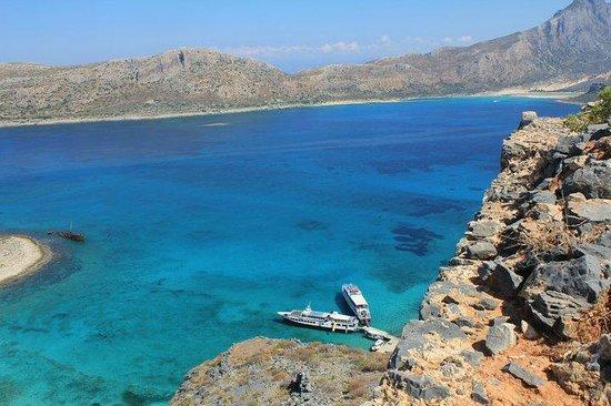 Balos Beach and Lagoon: View