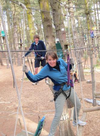 Adrenaline Forest: Having fun