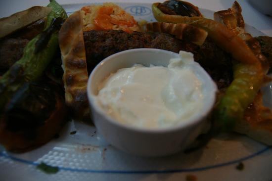 Buhara Ocakbasi : Beyti kebab. Not bad. However, you should confirm the price before order.