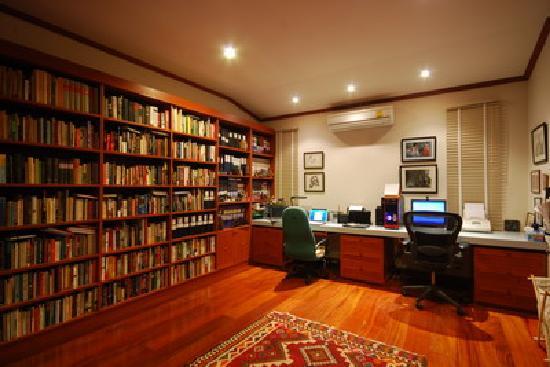 Library/Computer Room at Lanna Thai Villa