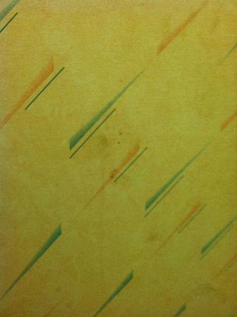 Super 8 Oxford: Dirty markings on bathroom wall
