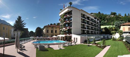 Hotel Delfino Lugano Updated 2018 Reviews Price Comparison Switzerland Tripadvisor
