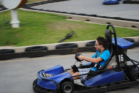SpeedZone: Go cart