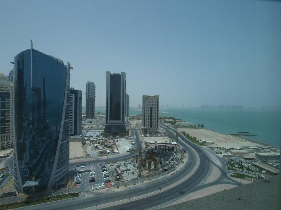Four Seasons Hotel Doha: Panorama vicino all'hotel