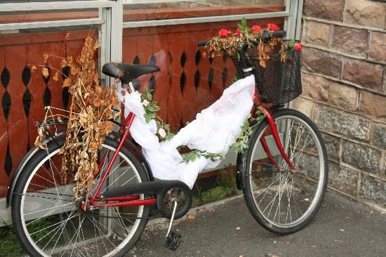 Waxholms Hotell: Random bike