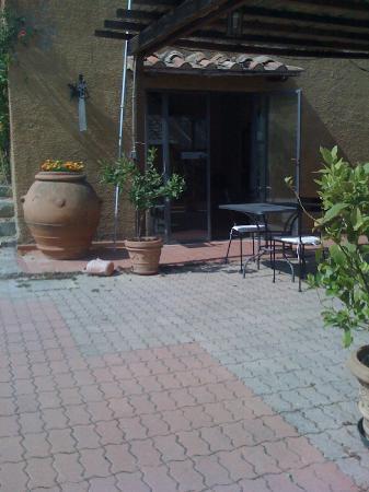 Agriturismo Il Castagnolino: Endroit de repas