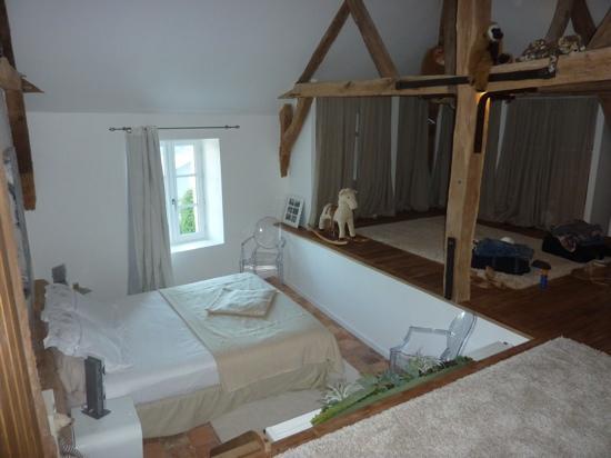 Manoir de Boisairault : our room