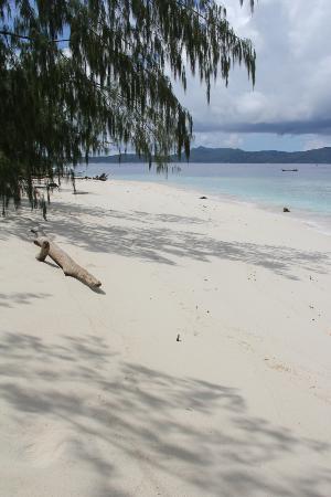 Raja4Divers Resort: Surface stop beach