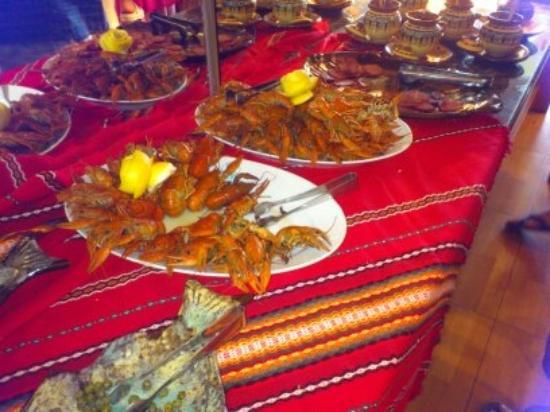 LTI Neptun Beach Hotel: Fresh seafood
