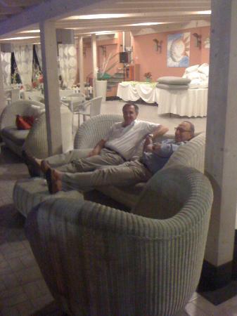 Hotel Monte Rosa: Terrasse