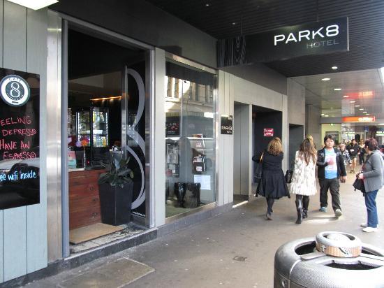 Park8 Hotel Sydney: On the street