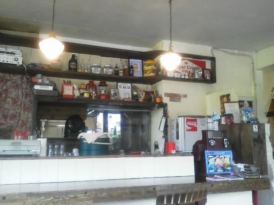 Gordie's Hamburger: 店内